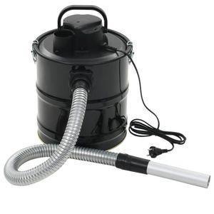 ASPIRATEUR CENTRAL Aspirateur à cendres avec filtre HEPA 1000 W 20 L