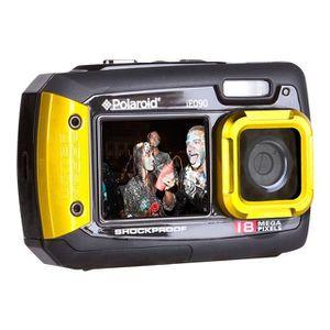 APPAREIL PHOTO COMPACT POLAROID IE090 jaune étanche - CMOS 18 Mpix Appare