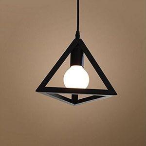 LUSTRE ET SUSPENSION STOEX® Lustre Luminaire - E27 - Métal - Noir