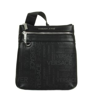 BESACE - SAC REPORTER Besace Versace Linea Logo All Over Dis 5 Noir ... 359f762c80a