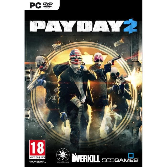 JEU PC Pay Day 2 Edition Spotlight Jeu PC