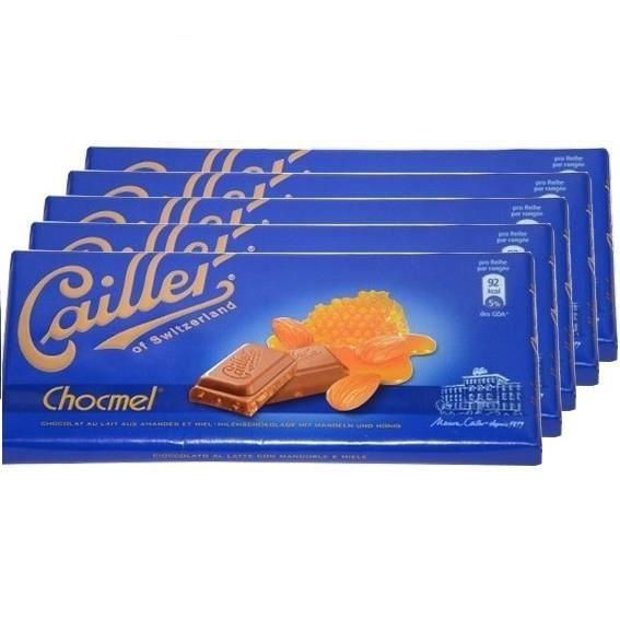 5 Tablettes Cailler Chocmel