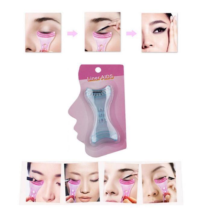 EYE-LINER Beauté Smokey Shaper outil de maquillage modèle de fard à paupières modèle de pochoir eyeliner YMF70810673B_onei1918