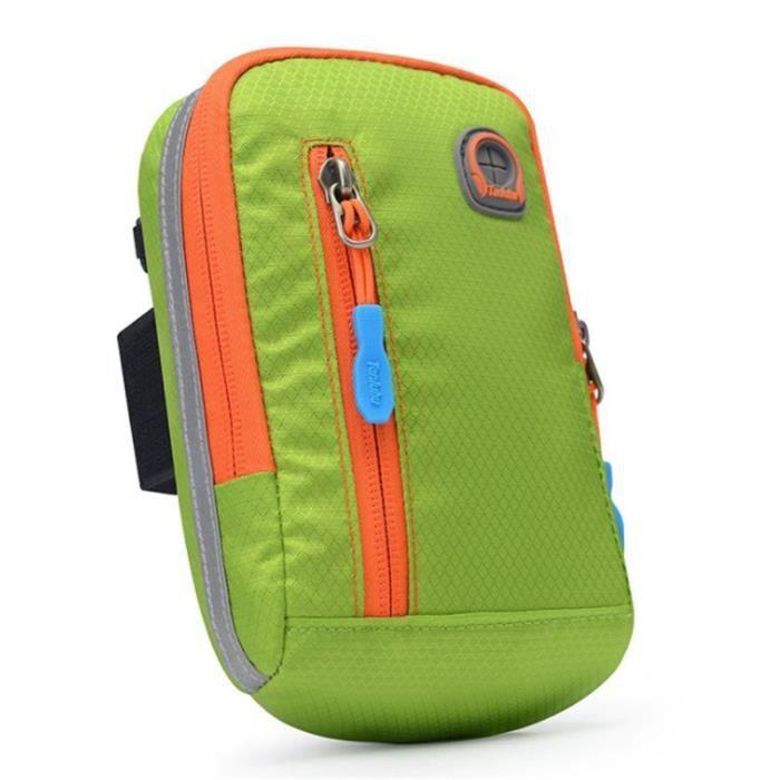 SAC DE SPORT Mixte -Sac de messager multifonctionnel à une épaule sac de sport étanche pour téléphone portable- vert QW™