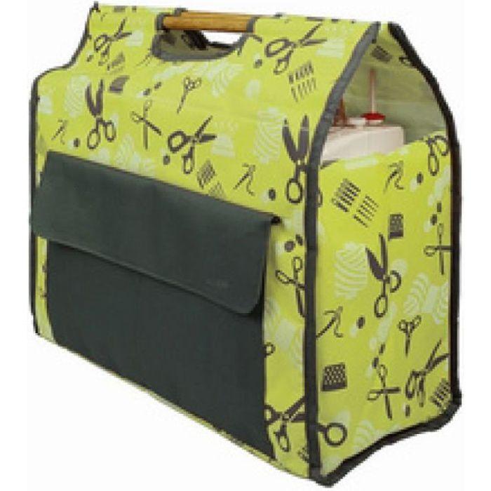 kleiber kleiber sac pour machine à coudre, turquoise/gris