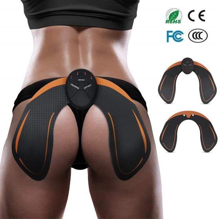 Appareil de Fesse, ACCEWIT Intelligent Hips Trainer EMS Ceinture Massage Musculaire Fessier Electrostimulateur Hanche Musculaire,