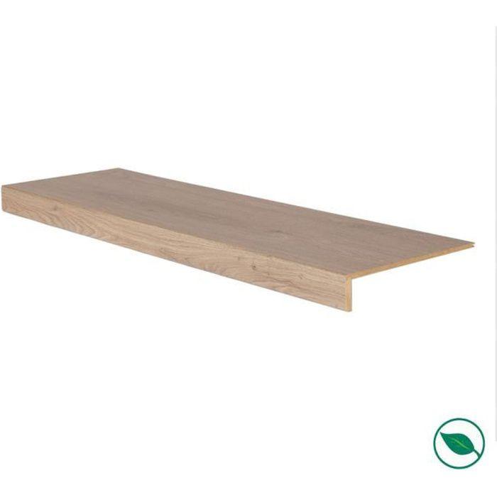 Marche rénovation d'escalier stratifié louisiana 1000 x 300 x 5,6 mm . FORESTEA Dimensions : 1000 mm x 300 mm x 5.6 mm