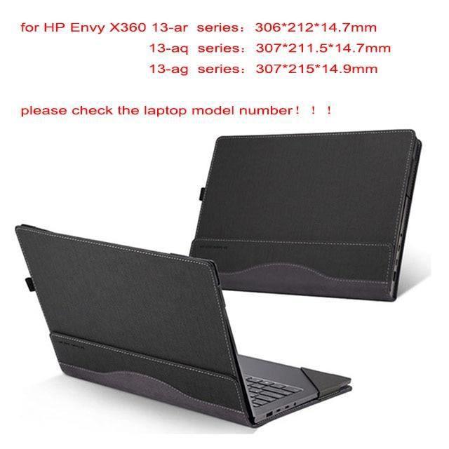 Sacoches & Housses Ordinateur,Housse d'ordinateur portable détachable pour Hp Envy X360 13.3 pouces - Type grey-envy 13-ba series