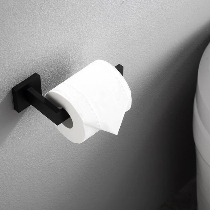Porte Rouleau Papier Toilette,Dérouleur Papier Accessoirs WC,Déco Murale WC, Distributeur Papier WC-Accessoire Toilettes