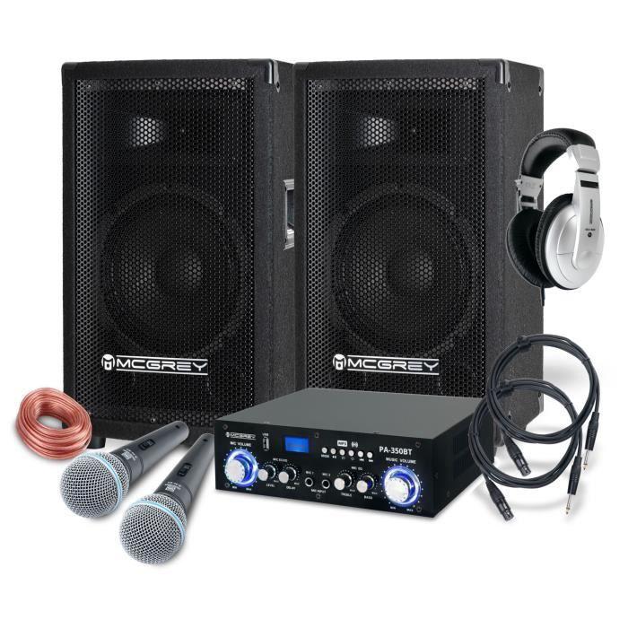 McGrey DJ système de karaoké Party-1000 600W