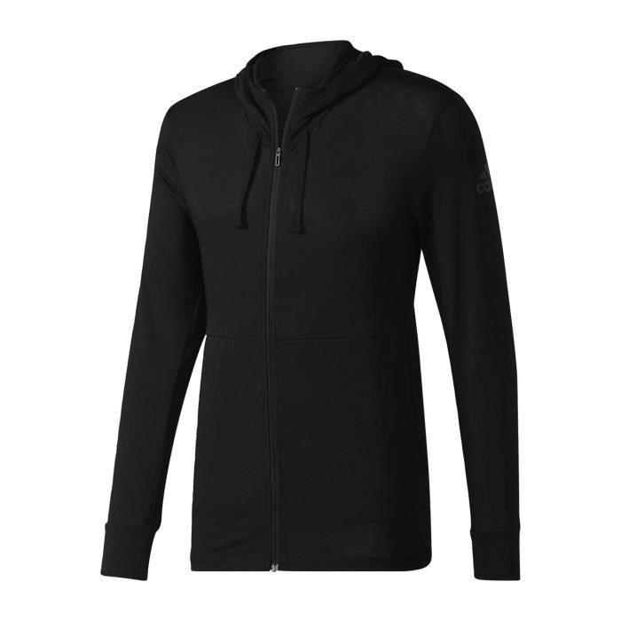 Adidas Performance Veste Workout Lite Noir Veste à Capuche Homme Multisports