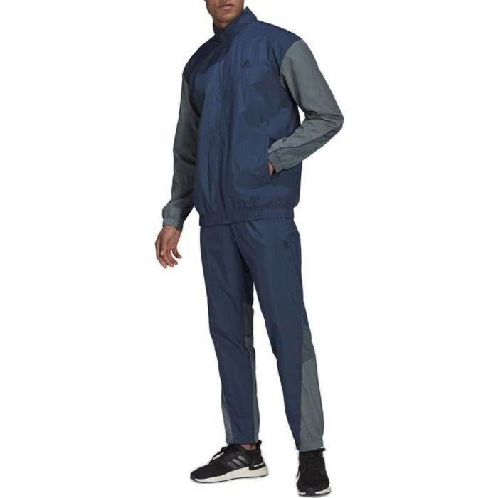 Adidas Survêtement pour Homme Sportswear Z.N.E. Metallic Inserts Bleu