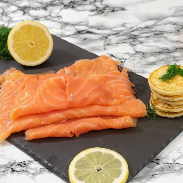 Saumon sauvage fumé - 2/3 tranches 150g - Ecosse