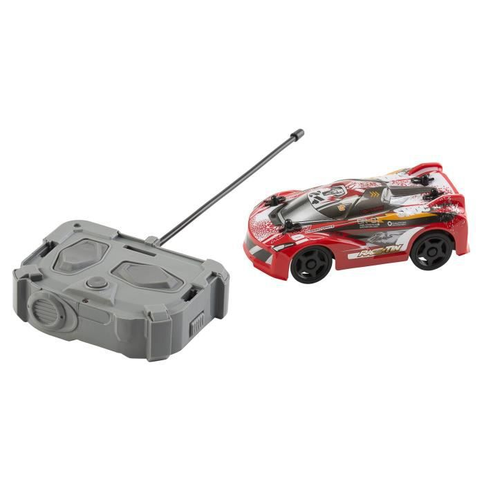 RACE TIN Petite Voiture télécommandée Car Super Car - Rouge - 1:32 - 8 km/h