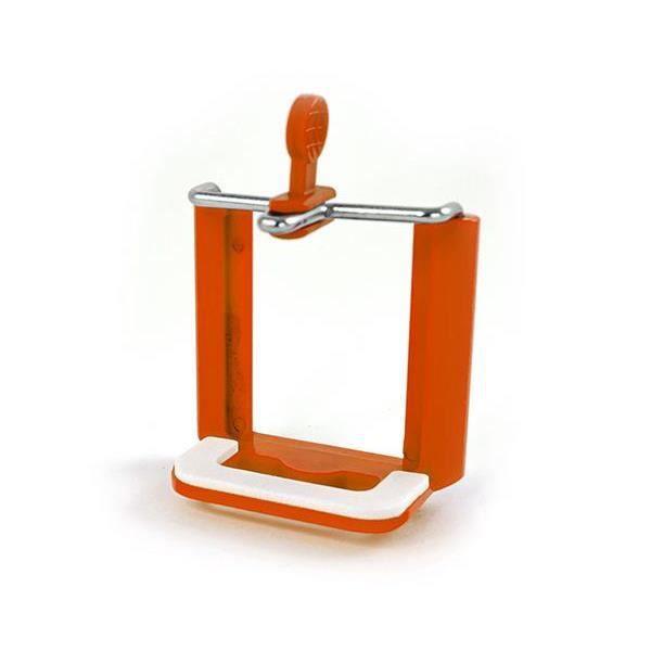 Fixation trépied pour smartphone - Orange