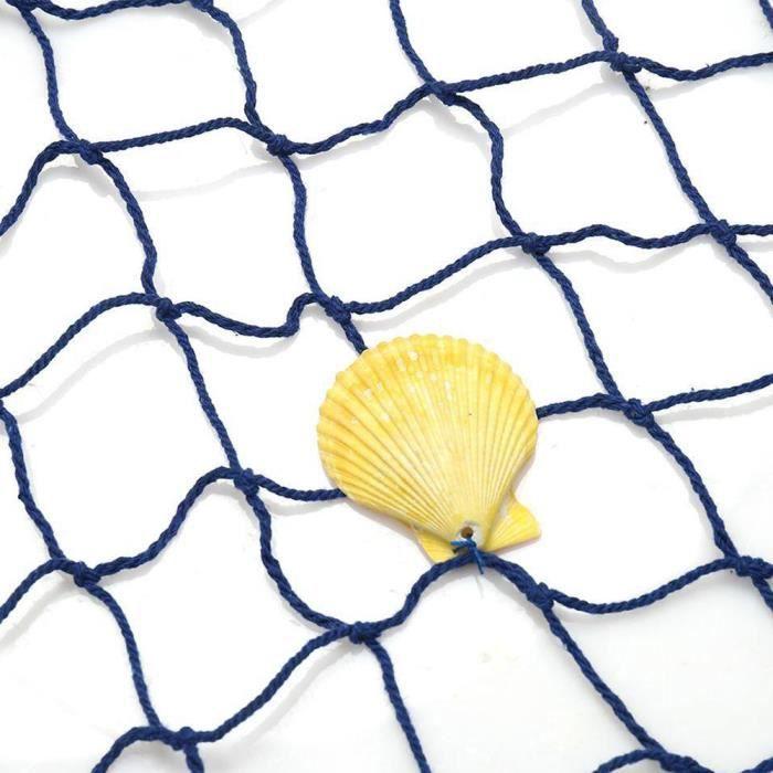 Nautical Seaside Beach Sea Shell Decorative Fishing Net Home Wall Party Decor