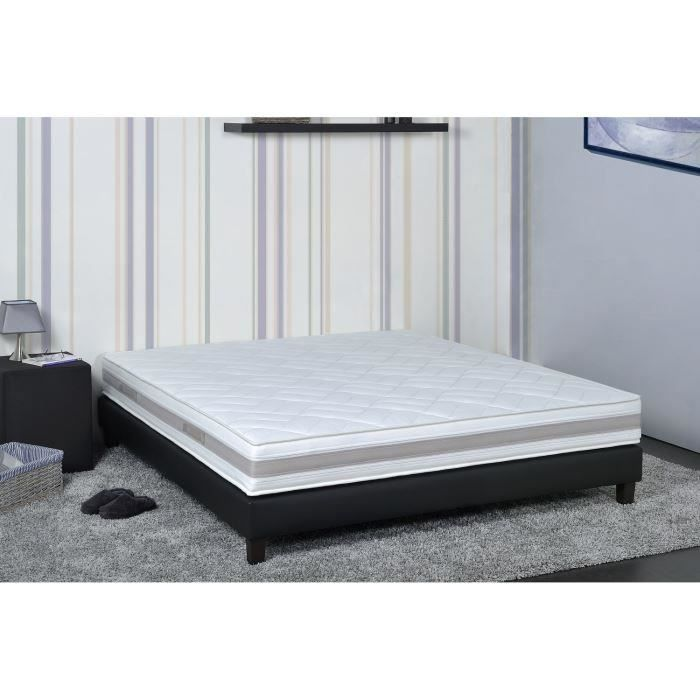 antib matelas 140x190 memoire de forme achat vente matelas cdiscount. Black Bedroom Furniture Sets. Home Design Ideas