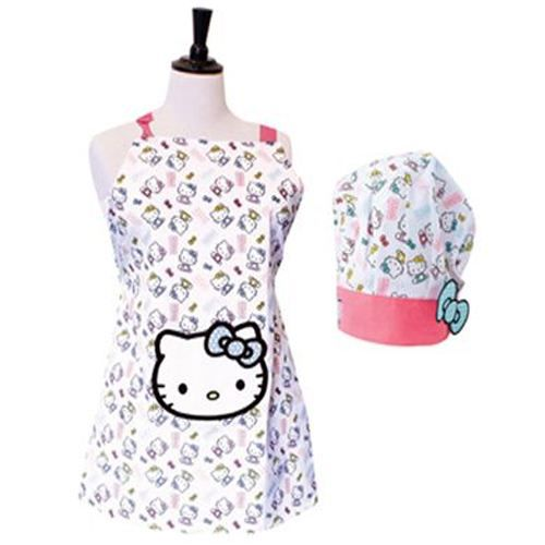 tablier de cuisine hello kitty et sa toque enfant achat vente tablier de cuisine cdiscount. Black Bedroom Furniture Sets. Home Design Ideas