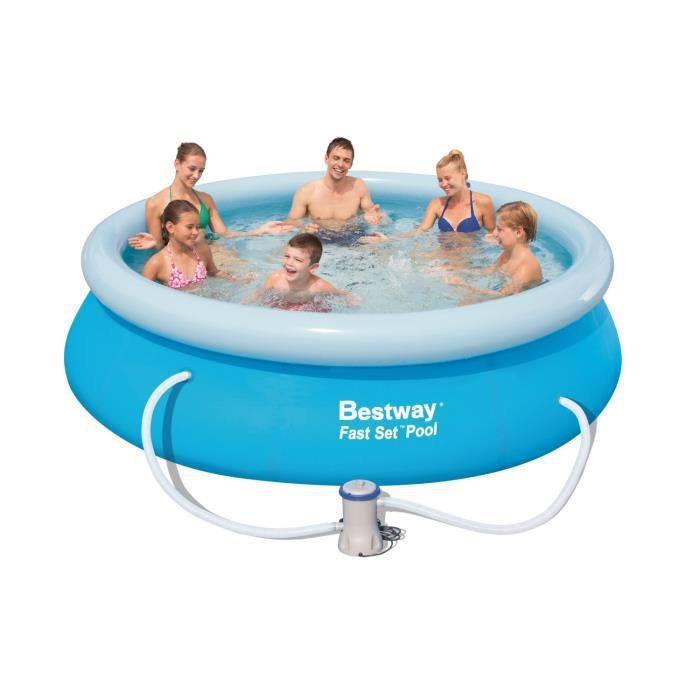 Piscine fast set pools autoportante 305 x 76cm achat for Achat piscine autoportante