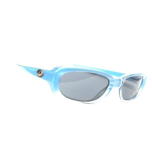 Lunettes vintage DRAGON MINT SPEED VOLT BLUE FADE GREY intro aille unique Bleu