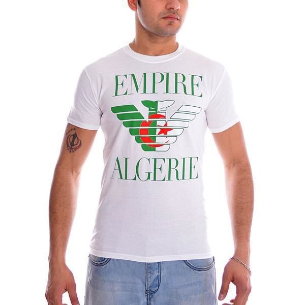 tshirt empire algerie blanc multicolore achat vente t shirt tshirt empire algerie blanc. Black Bedroom Furniture Sets. Home Design Ideas