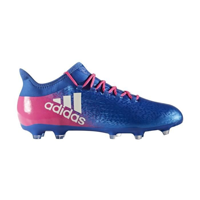 low priced 410a8 e458f Chaussures football adidas X 16.2 FG BleuRose