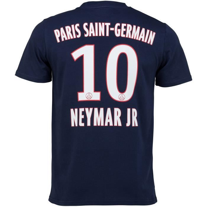 MAILLOT DE FOOTBALL T-shirt PSG - NEYMAR Jr - Collection officielle PA ... e1fec8925d6