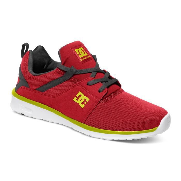 DC SHOES Heathrow Chaussure Homme - Taille 40.5 - ROUGE bmeH9