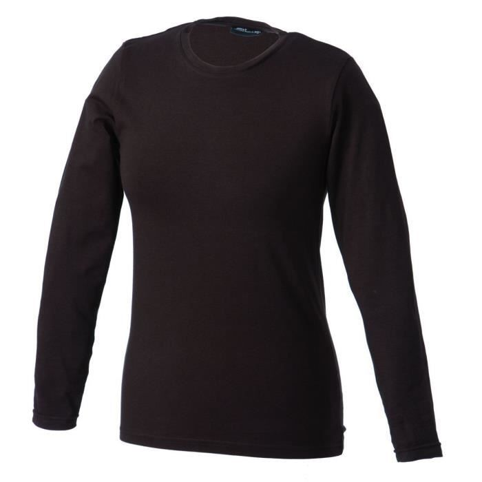 T-SHIRT T-shirt stretch femme manches longues - JN054 - ma
