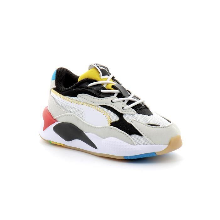 Puma rs-x3 kid's Blanc Blanc - Cdiscount Chaussures