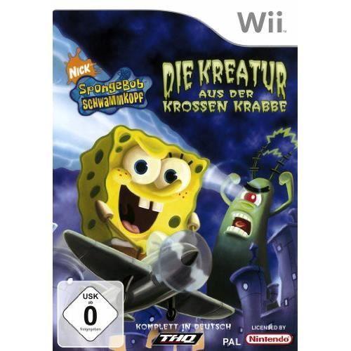 JEU WII Wii - SpongeBob Schwammkopf: Die Kreatur aus der K