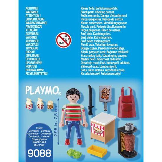 Vendeur de kebab Playmobil
