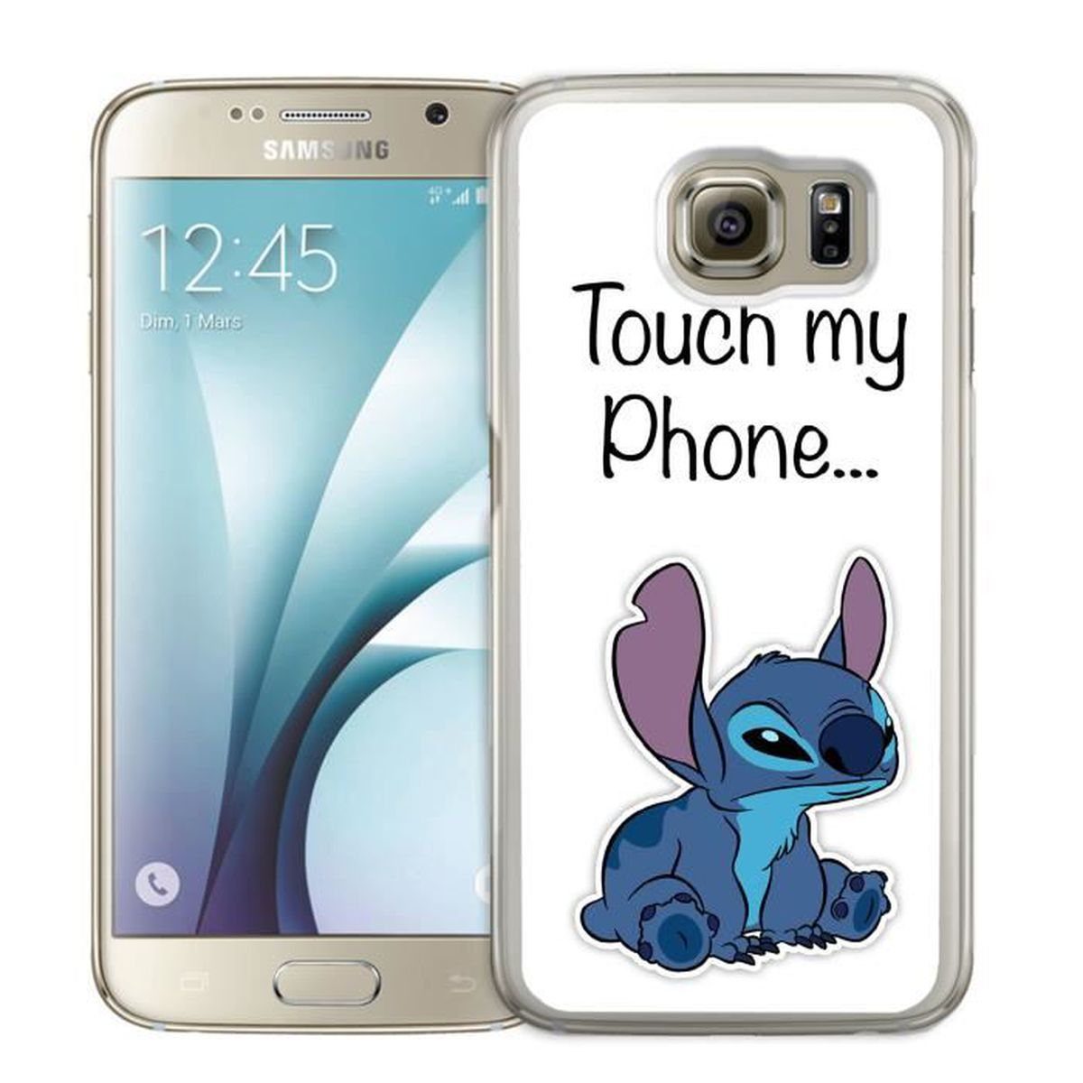 coque samsung galaxy s5 mini stitch touch my phone. Black Bedroom Furniture Sets. Home Design Ideas