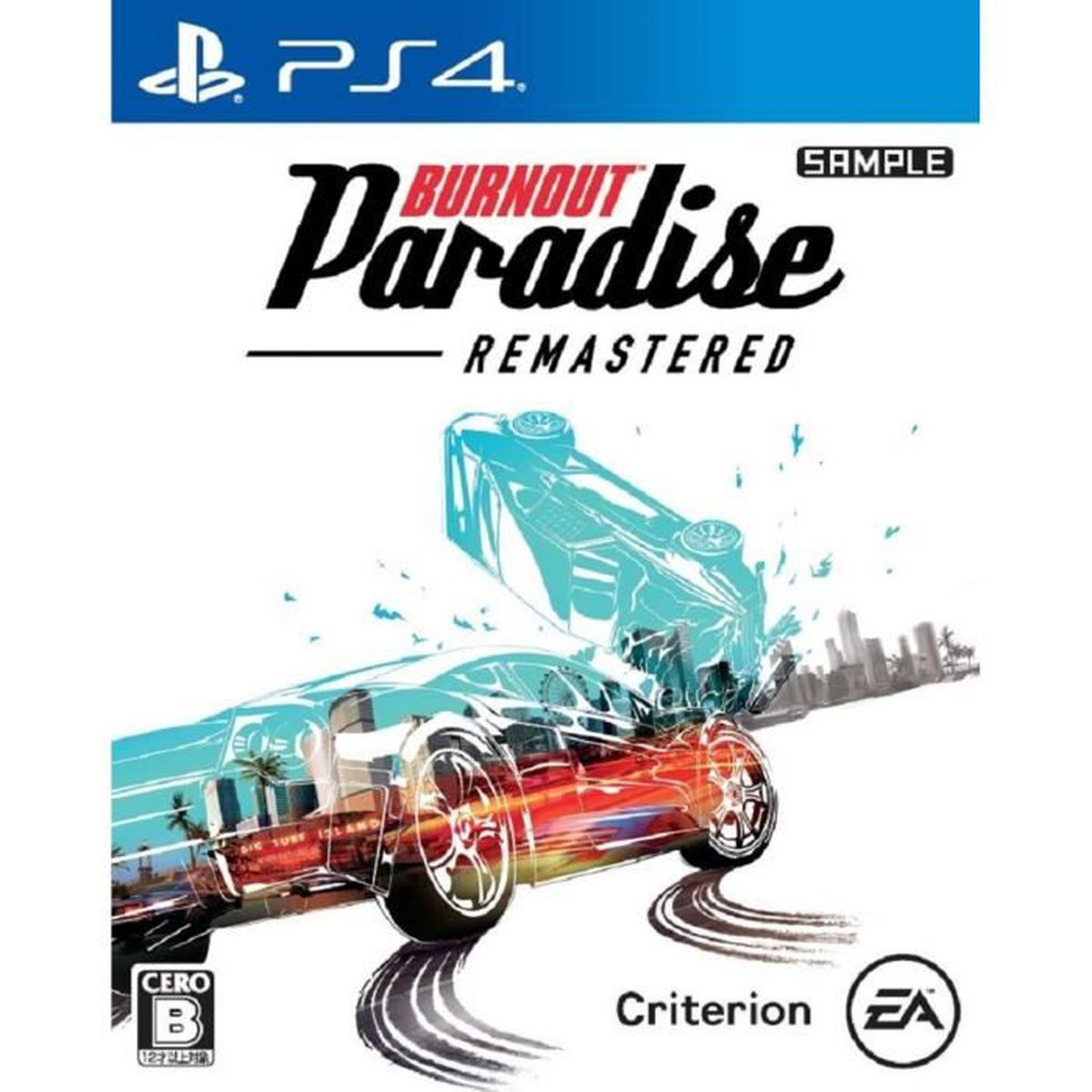 JEU PS4 EA Burnout Paradise Remastered SONY PS4 PLAYSTATIO