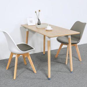 TABLE À MANGER COMPLÈTE Ensemble Table de Salle à Manger Noir Design pour