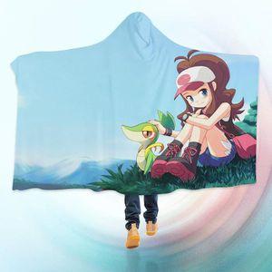 COUVERTURE - PLAID 3D Hooded Blanket for Pokemon 8234  Couverture à C