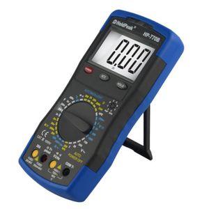 MULTIMÈTRE Holdpeak HP-770B Multimètre numérique haute précis