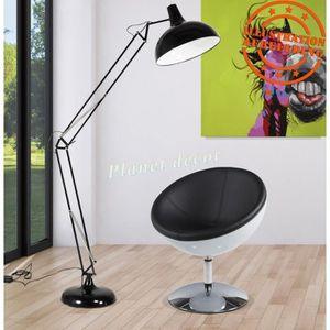 LAMPADAIRE LAMPADAIRE ARCHITECTE RETRO DESIGN NOIR