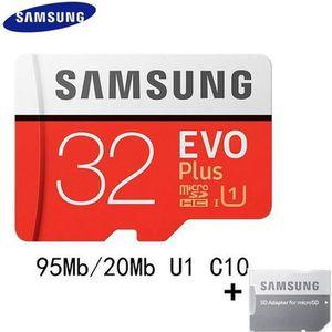 CARTE MÉMOIRE Carte Mémoire Micro SD 32 GB Samsung + Adaptateur