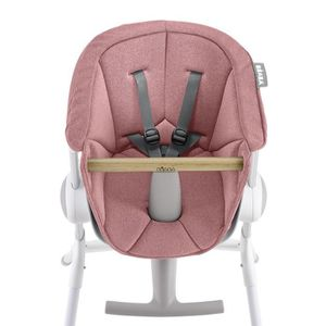 CHAISE HAUTE  BEABA Assise chaise haute Up&Down pink