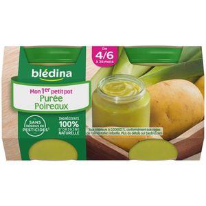 PURÉES DE LÉGUMES BLEDINA Mon 1er Petit Pot Pomme de terre poireaux
