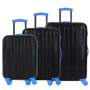 SET DE VALISES David Jones - Lot de 3 valises bagage rigide - 4 R