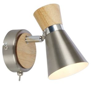 Noble murale éclairage planches éclairage Honsel-Lampes Verre blanc externe variateur