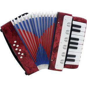 ACCORDÉON Mini petit 17-clés Accordéon 8 basse Instrument éd