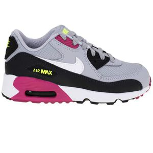 BASKET Baskets Nike Nike Air Max 90 Mesh (Ps) 833420-027
