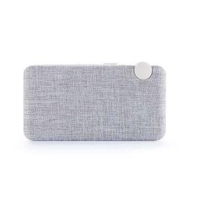 ENCEINTE NOMADE Enceinte Bluetooth  Radio bois et grille tissu Tho