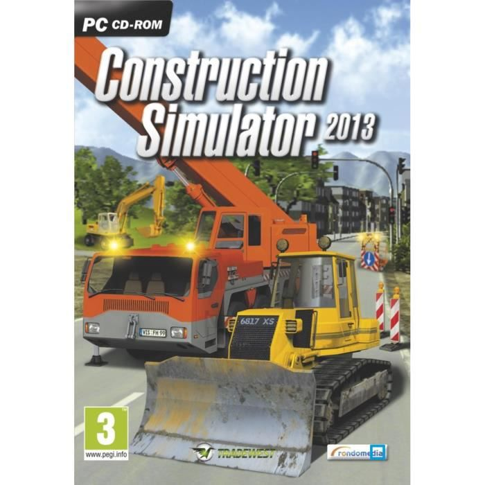 engins de construction simulator jeu pc achat vente jeu pc engins de construction cdiscount. Black Bedroom Furniture Sets. Home Design Ideas
