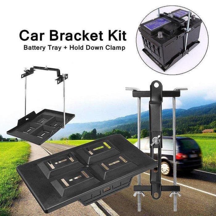 Support de Batterie Fixation du boîtier batterie stable pour la voiture