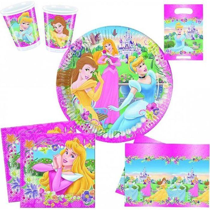 Set Anniversaire Décor 'Disney Princesses Journey'