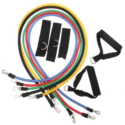 11 pièces de résistance pour exercice fitness gym yoga abs ou de pilates / bandes définies